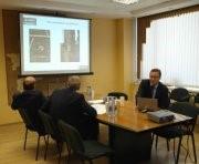 Timo Mikkonen meets with minister Kucherin in Syktyvkar 2