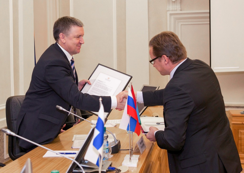 Aleksandr Petrovitš Hudilainen ja Timo Mikkonen